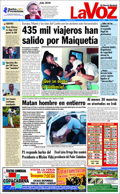 diario periodico venezuela: