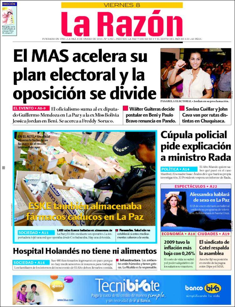 la razon diario de bolivia:
