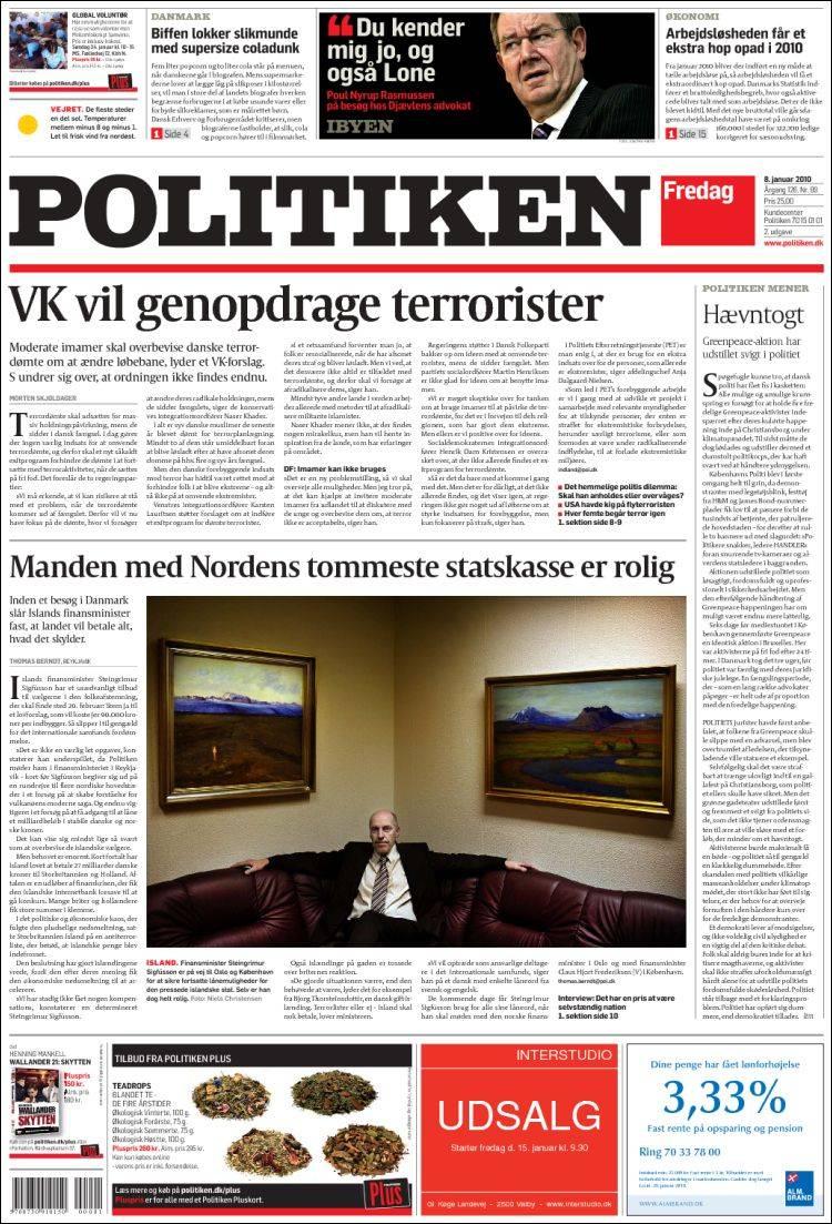 politiken flyt avis