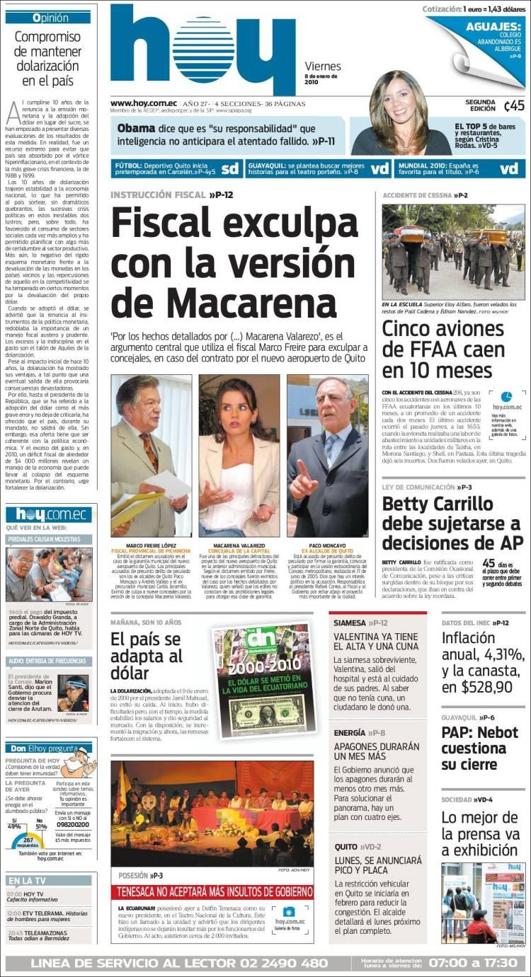 diario as de hoy: