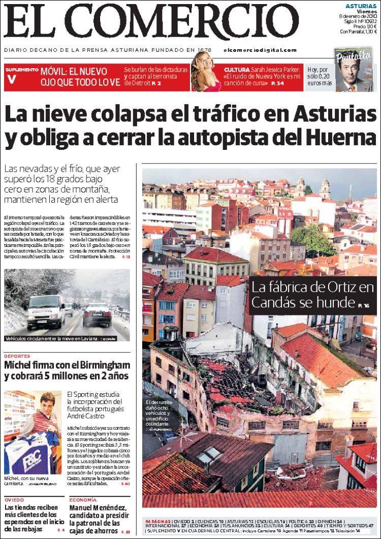 el comercio periodico asturias: