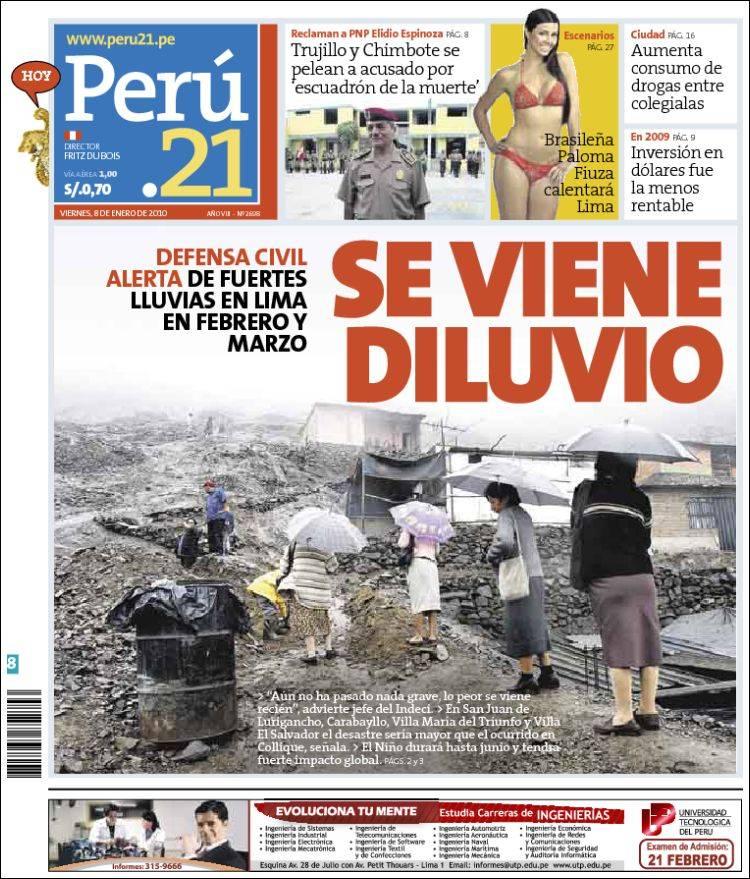 Noticias Del Peru Y El Mundo