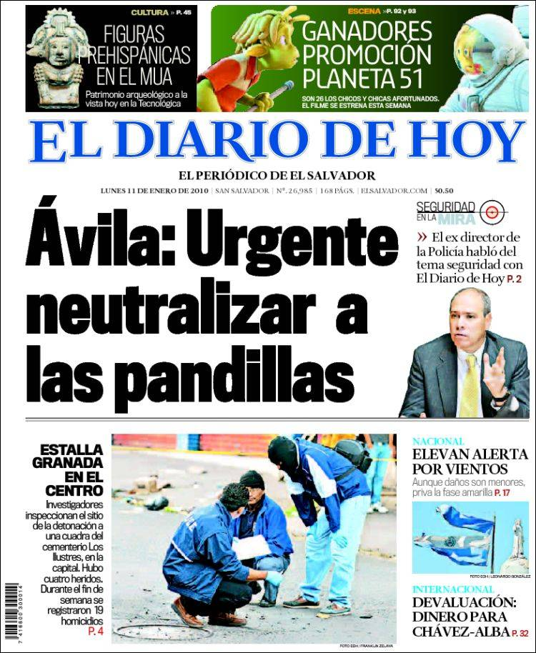el diario de hoy: