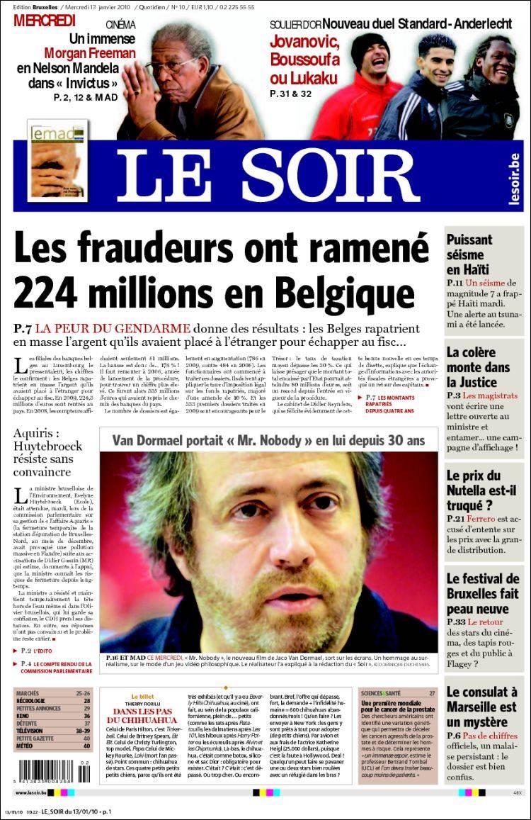 Le journal du soir - Le journal de francois ...