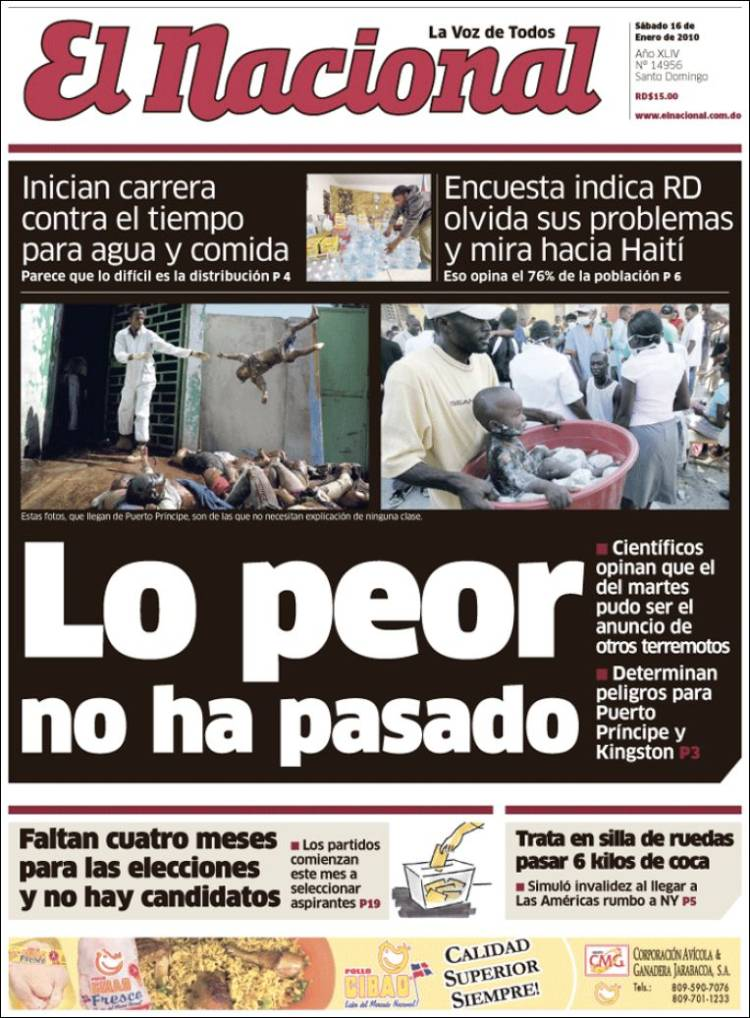 Newspaper El Nacional (Dominican Rep )  Newspapers in