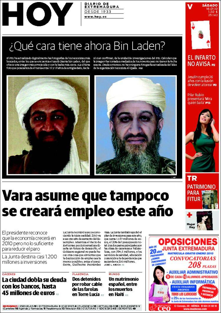 Peri dico hoy caceres espa a peri dicos de espa a Noticias del dia de hoy en argentina espectaculos