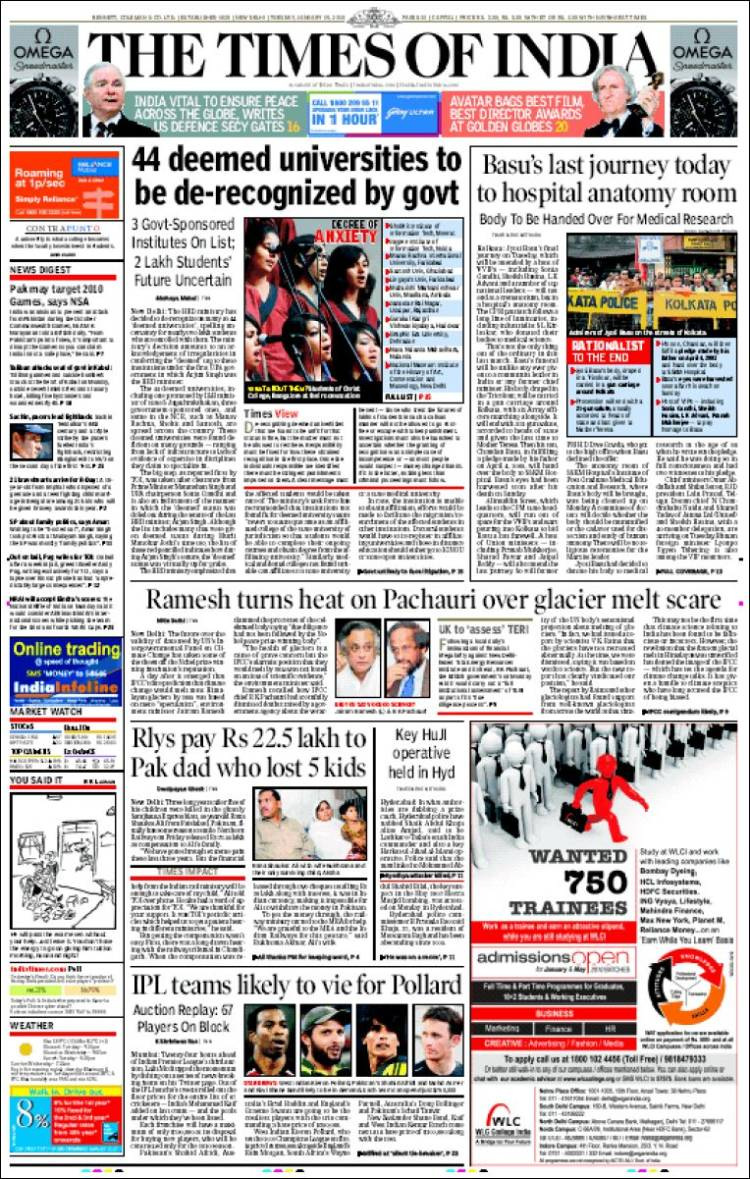 the times of india newspaper pdf