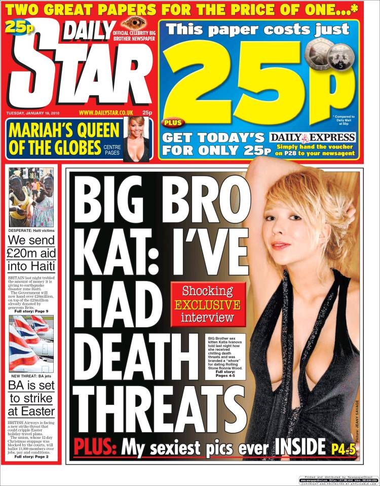 Opinions on Daily Star (United Kingdom) Daily Star