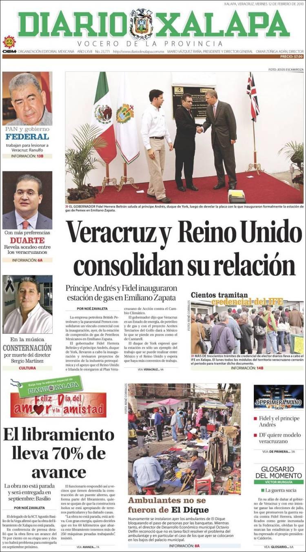 Periódico Diario De Xalapa México Periódicos De México