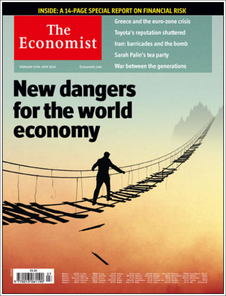 Newspaper The Economist United Kingdom Newspapers In