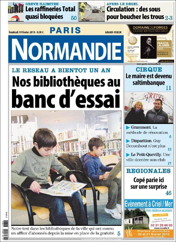 paris-normandie fr villeurbanne