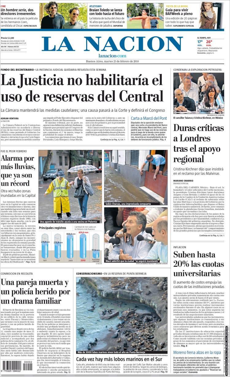 opiniones de la naci 243 n argentina al muerto en combate