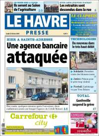 Portada de Le Havre Presse (France)
