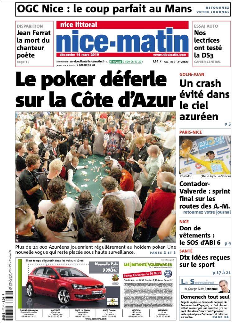 France provence-alpes-côte d&;azur presse d'information généra