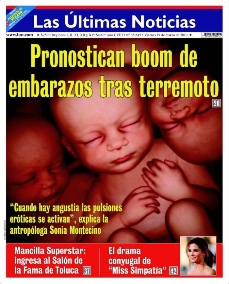 Peri dico las ltimas noticias chile peri dicos de for Noticias de ultimo momento espectaculos