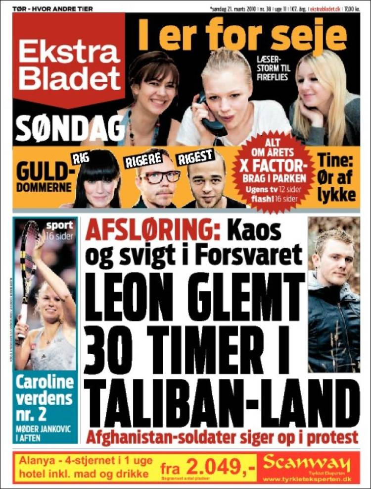 ekstrabladet for