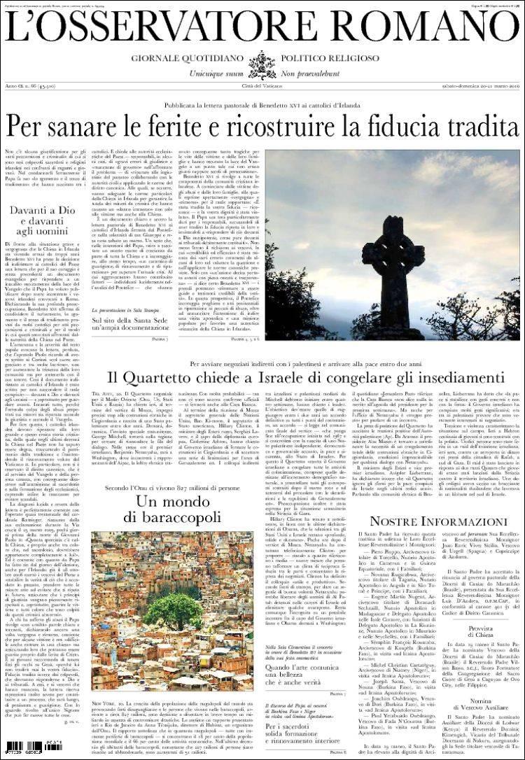 OSSERVATORE ROMANO PDF