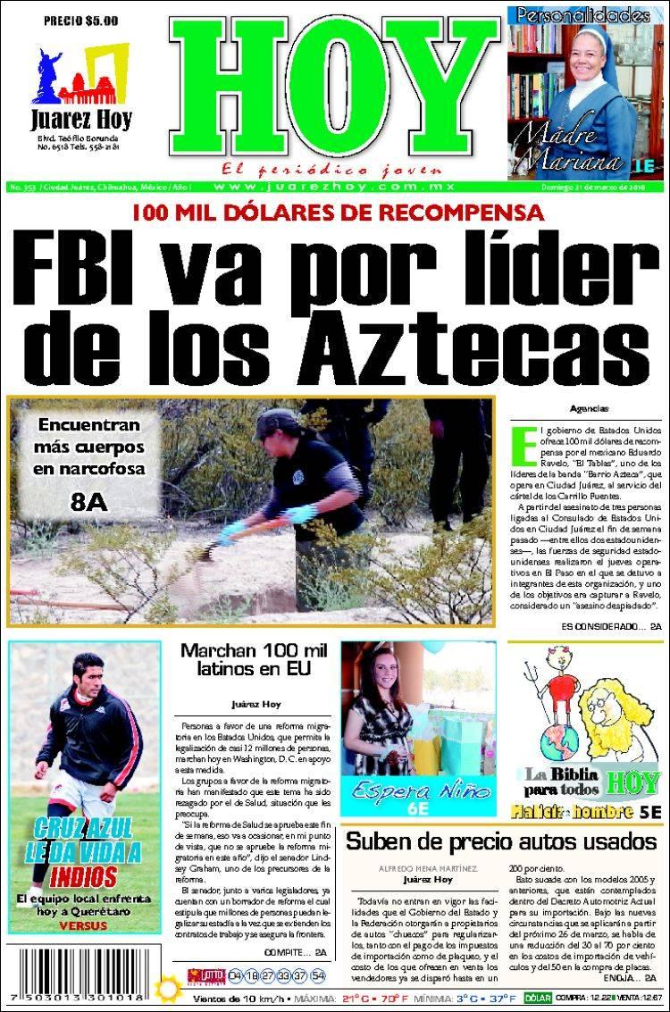 diario noticias de hoy: