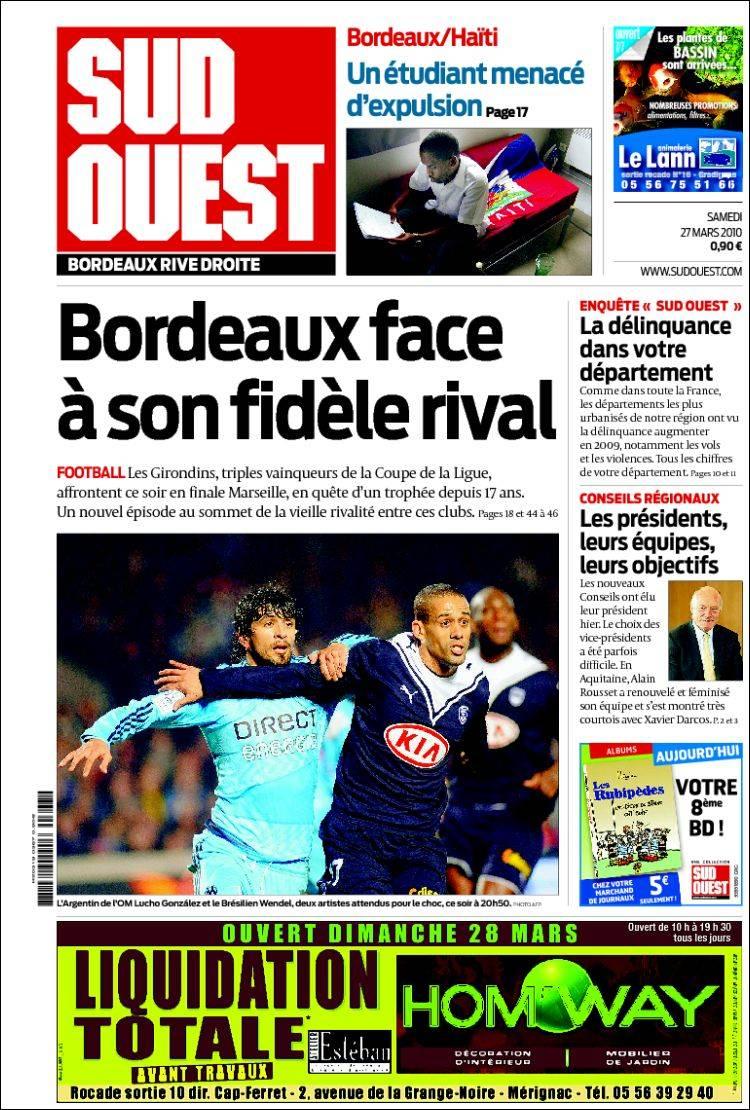 Sud Ouest Journal Bordeaux