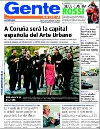 Gente en A Coruña