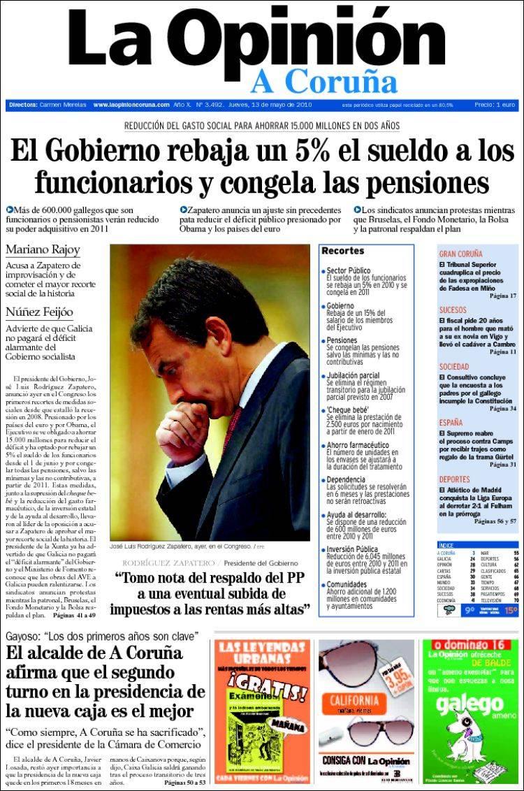 Imagen de editorial de periodico guia de generos y for Editorial periodico mural