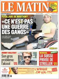 journal le matin suisse les unes des journaux de suisse dition du jeudi 27 de mai de 2010. Black Bedroom Furniture Sets. Home Design Ideas