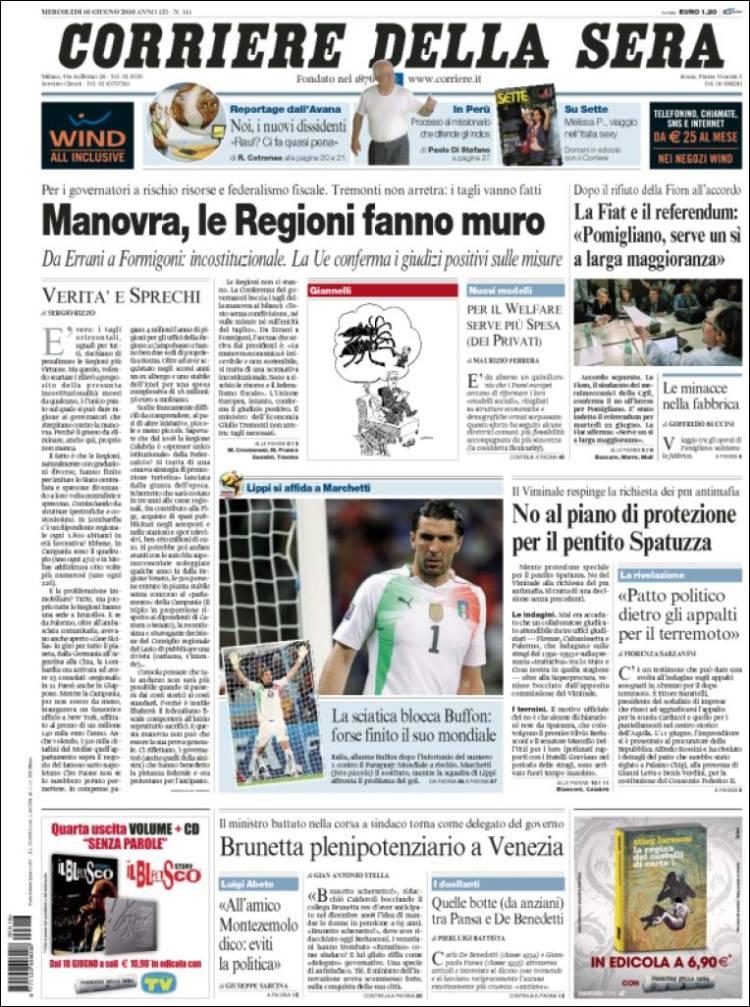 Peri dico corriere della sera italia peri dicos de for Corriere della sera arredamento