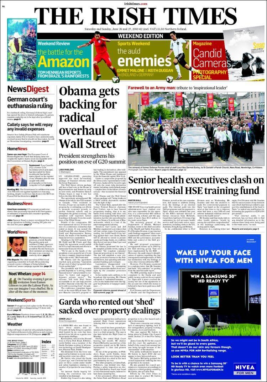 Irish & International Headlines