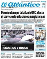 Portada de El Atlántico (Argentine)