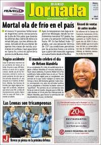 Portada de Diario Jornada (Argentine)