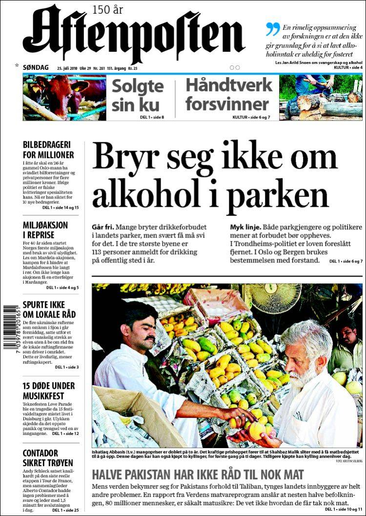 siste side norwegian edition