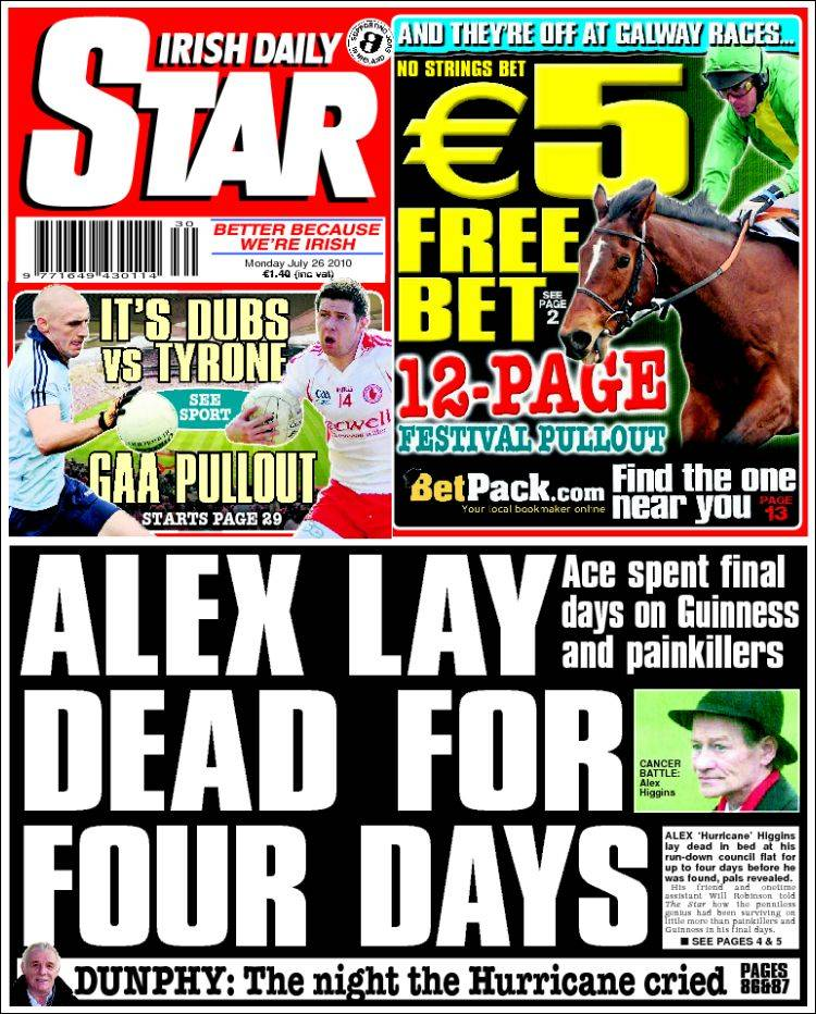Portada de The Star (Ireland)