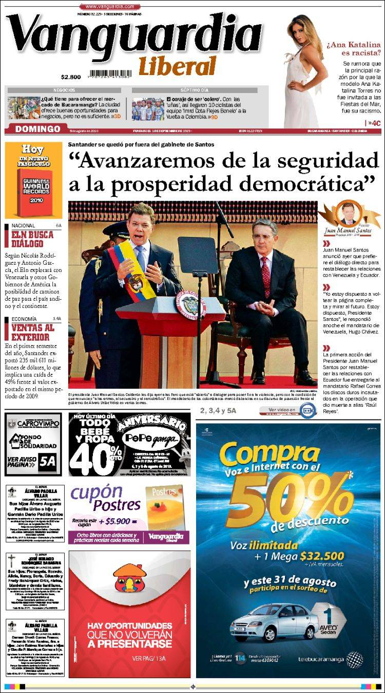 vanguardia liberal colombia: