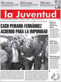 Portada de Diario La Juventud (uy)