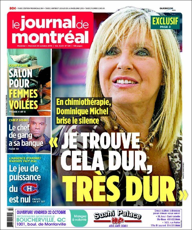 Journal de montreal pkhowto for O miroir montreal