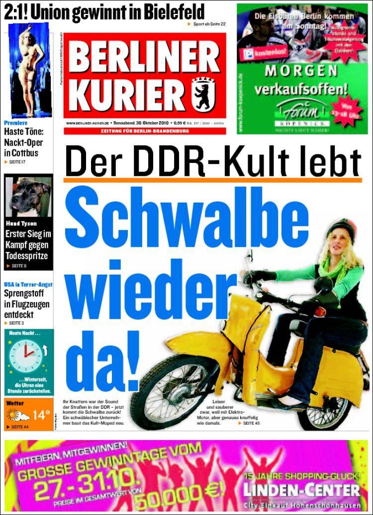 Portada de Berliner Kurier - Startseite BK (Germany)
