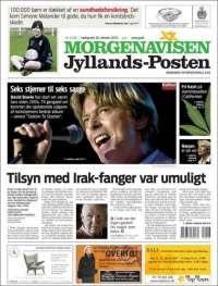 Portada de Jyllands-Posten (Denmark)