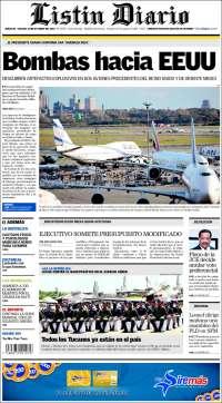 Portada de Listín Diario (Dominican Rep.)
