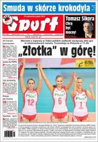 Portada de Przegląd Sportowy (Poland)