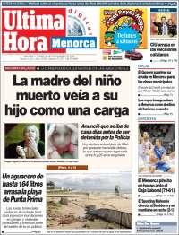 Última Hora - Menorca