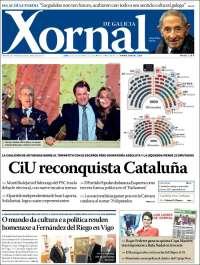 Portada de Xornal (España)