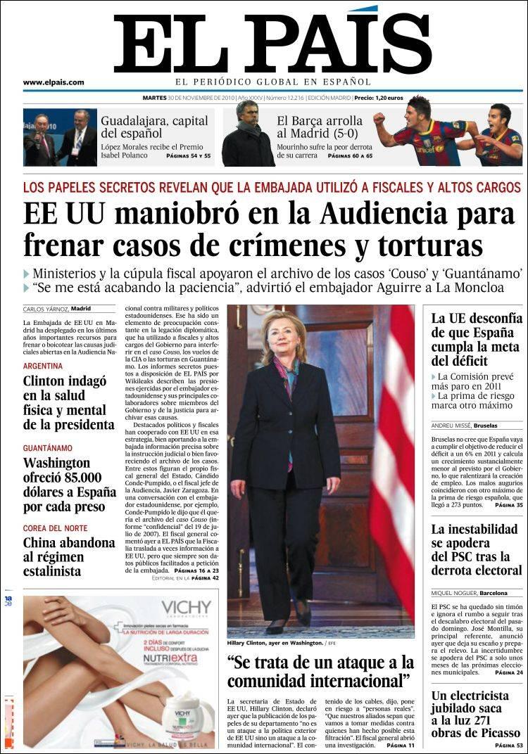 La Semana Del Cablegate 39 Por La Pendiente Del Periodismo