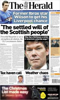 Portada de The Herald (United Kingdom)