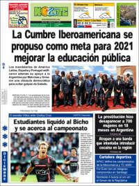 Portada de Diario Norte - Resistencia (Argentina)
