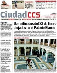 Portada de Ciudad CCS (Venezuela)