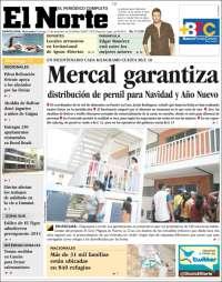Portada de Diario el Norte (Venezuela)