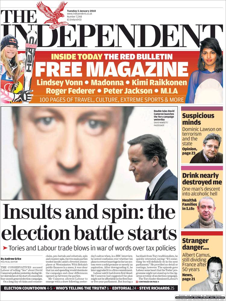The Independent on Sunday readership, circulation