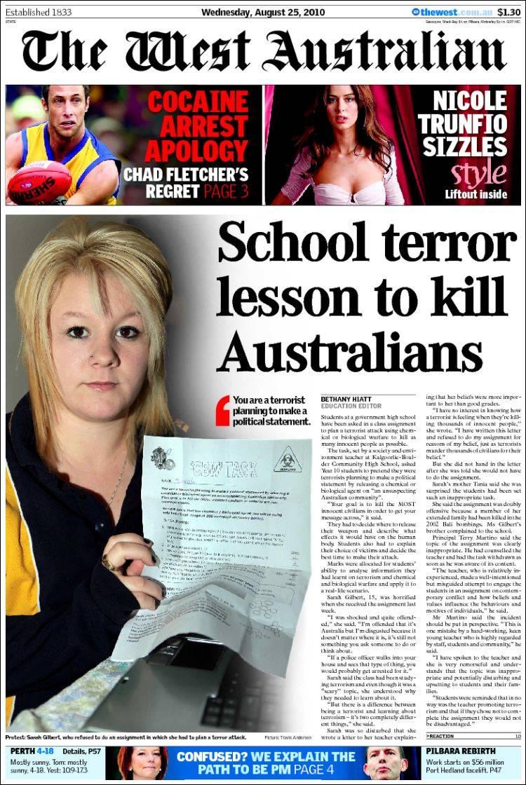 Cassie reports air sex, lies and threats   The West Australian